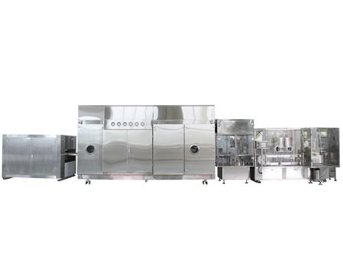 KQF型高速气流粉剂分装生产线