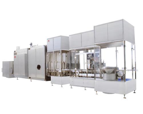 KQF型高速气流式粉剂分装联动线