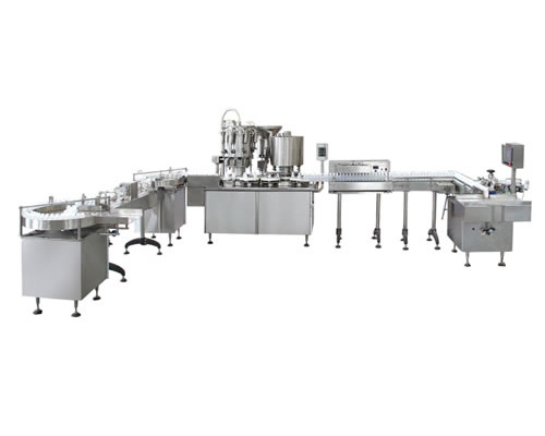 CGF型塑料瓶灌封联动生产线